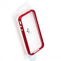 Чехол-бампер пластиковый для iPhone 4S красный