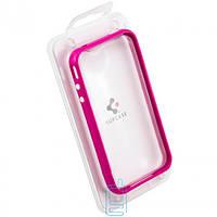 Чехол-бампер пластиковый для iPhone 4S сиреневый