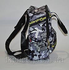 Прогулочная сумка-рюкзак камуфляжная, фото 3