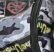 Прогулочная сумка-рюкзак камуфляжная, фото 4