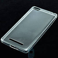 Чехол силиконовый Xiaomi Mi4i прозрачный