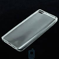 Чехол силиконовый Xiaomi Mi5 прозрачный