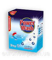 Бесфосфатный стиральный порошок Power Wash Professional для белых тканей, 3 кг