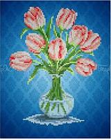 Схема для вышивки бисером Тюльпаны (А4)