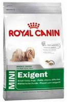 Корм для привередливых собак мелких пород от 10 месяцев Роял Канин Мини Эксиджент 2кг.