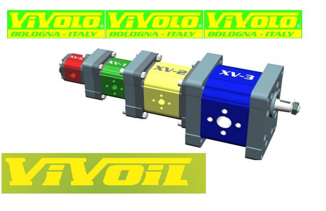 Шестеренные насосы, гидромоторы, делители потока - Vivoil