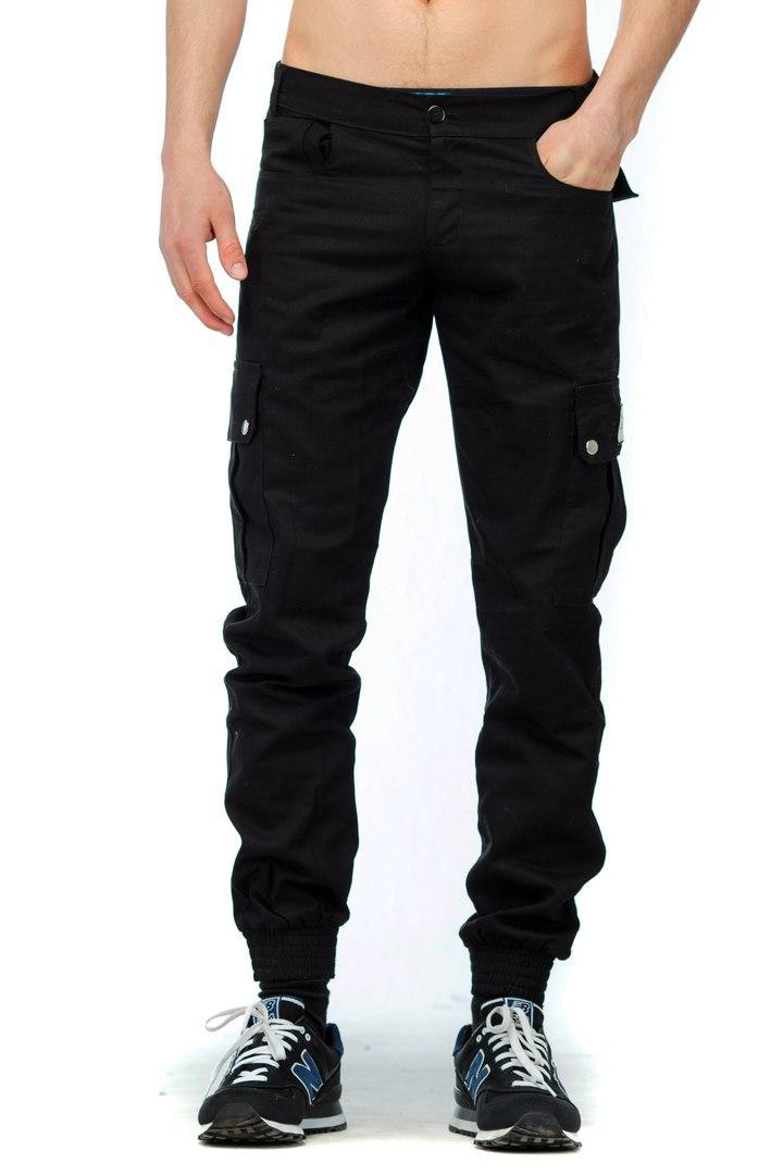 42d87dbedf14 Штаны Cargo Pants Черный (манжет) M — в Категории