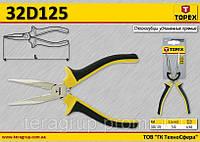 Щипцы удлиненные прямые 160мм,  TOPEX  32D125