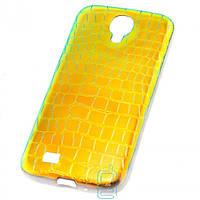 Чехол силиконовый Dekkin Snake Samsung S4 i9500 хамелеон Green