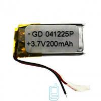 Аккумулятор GD 041225P 150mAh Li-ion 3.7V