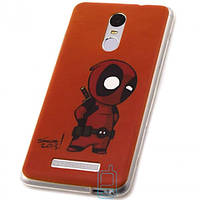 Чехол силиконовый Deadpool для Xiaomi Redmi Note 3