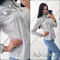 Женская хлопковая рубашка с вышивкой, разные модели