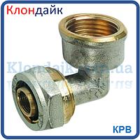 Угол для металлопластиковой трубы с внутренней резьбой 26х1