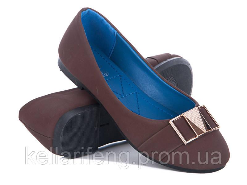 5c1426356 Женская обувь оптом. Балетки женские от фирмы GFB A7-4 (8пар 36-41 ...