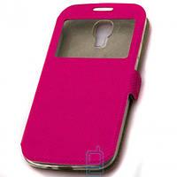Чехол-книжка Modern Window Style Samsung i9500 S4 Розовый