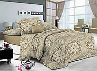 Комплект постельного белья полуторный 150*220 сатин (7657) TM Kris-Pol Украина