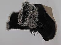 Claudia Chizzani Стильные ботинки под замшу _на танкетке модные из Германии _ 39р-25см Н44
