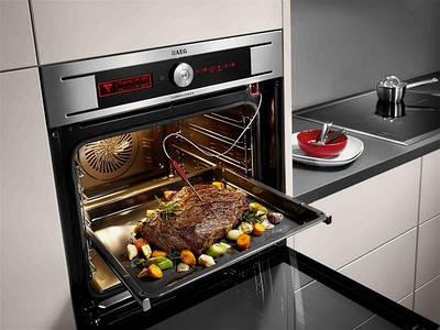 Встраиваемые электрические духовки для кухни