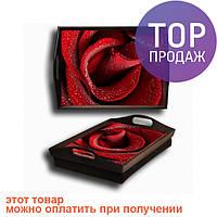 Поднос подушка Роза /аксессуары для дома