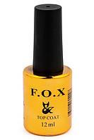 Топовое покрытие для ногтей F.O.X Top No wipe 12 мл