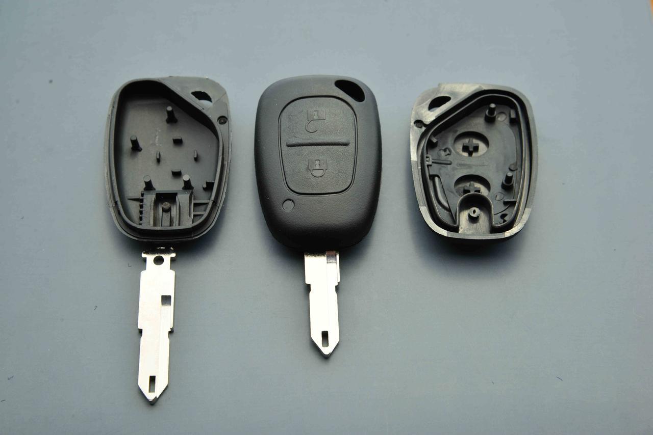 Корпус авто ключа для Opel (Опель, Виваро) Мовано, MOVANO, VIVARO - 2к