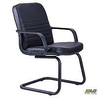 Кресло Чинция CF Кожа Сплит черная, фото 1