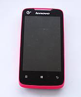 Lenovo A390t Pink Оригинал! 2 сим 2 ядра