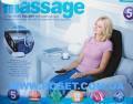 Массажная накидка с подогревом Massage seat topper