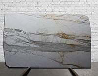 CALACATTA CARRARA - Мраморный слэб (сляб) 20мм - 5,005 м2