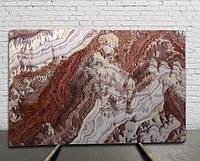 ONICE RED - Оникс слэб (сляб) 20мм - 5,928 м2