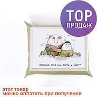 Поднос с подушкой Медведи /аксессуары для дома