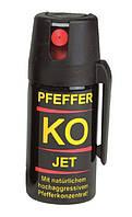 Газовый баллончик струйный Pfeffer KO JET 40Ml. Германия, оригинал.