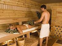 Веничный массаж в парной