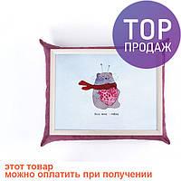 Поднос с подушкой Довольный Медведь /аксессуары для дома