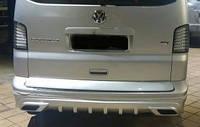 Юбка  заднего бампера Volkswagen T5