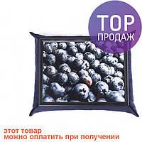 Поднос с подушкой Черника /аксессуары для дома