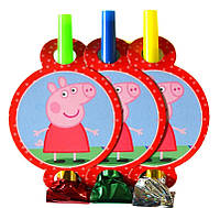 """Язычок-Гудок """"Свинка Пеппа""""  / 6 шт. в упаковке. 004"""