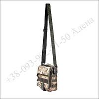 Тактическая сумка, барсетка плечевая для военных, армии пиксель