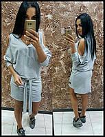 Платье женское серое Новинка ЮК/-290