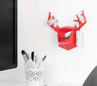 Настенный держатель для аксессуаров Deer 16,5 см пластик