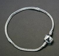 Браслет Пандора, длина 18.5 cм.