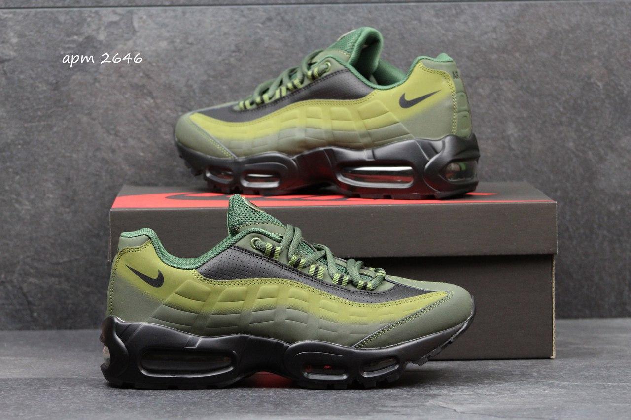 Кроссовки Nike air max 95,Black/Green