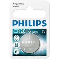 Батарейка Philips Lithium CR2016 (1 шт.)