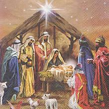 Салфетка декупажная Рождество 7053