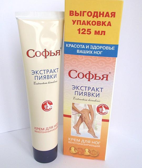 Софья крем с экстрактом пиявки, 125 мл
