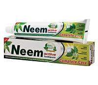 Отбеливающая зубная паста с нимом / Neem Active Toothpaste / 125 г