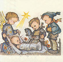 Салфетка для декупажа Младенец 7072