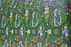 """Напольный детский игровой коврик. Детский развивающий каремат """"Городок""""., фото 6"""