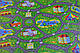 """Напольный детский игровой коврик. Детский развивающий каремат """"Городок""""., фото 7"""