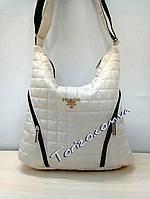 Стёганая женская сумка prada